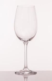 Transparant glas voor wijn