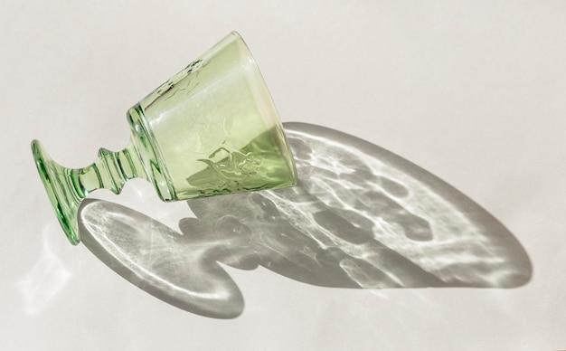 Transparant glazen schaduw