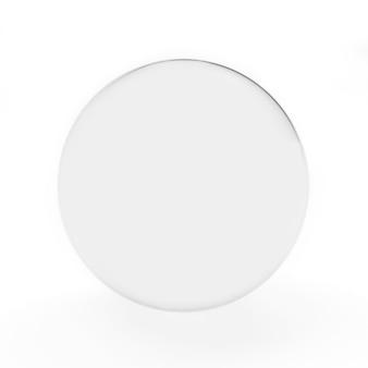 Transparante glazen bal of bol close-up