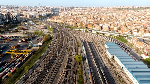 Transportconcept treinen en spoorwegen