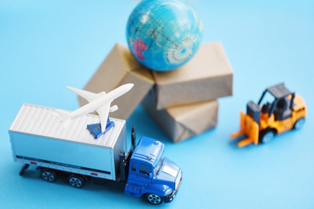 Transporten en pakketten