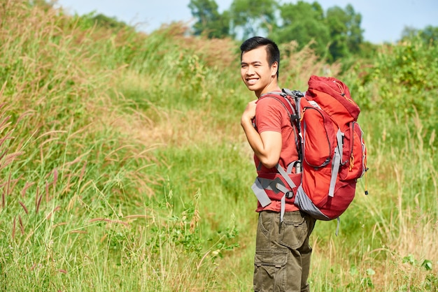 Trekking in de bergen