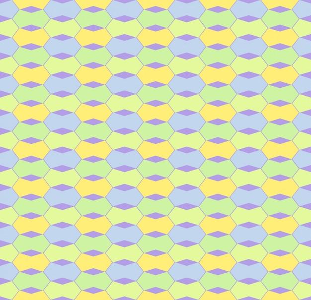 Trend creatieve tileable stijlvolle kleurrijke