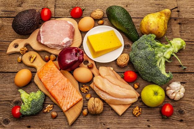 Trendy ketogene dieetproducten