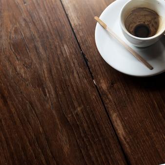 Trendy koffiewinkel in de stad
