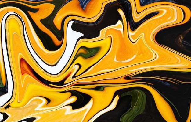 Trendy vloeibare abstracte digitale achtergrond