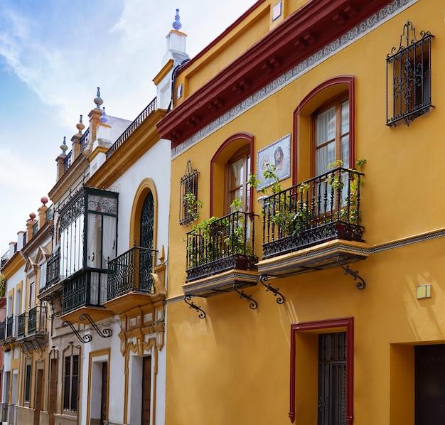 Triana barrio van de gevels andalusia spanje van sevilla