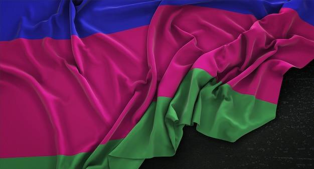 Tricolor vlag achtergrond