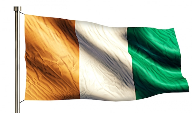 Tricolor vlag ontwerp