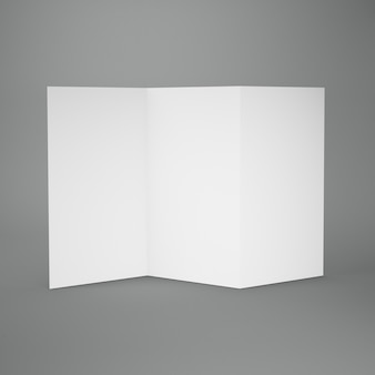 Trifold mock-up template