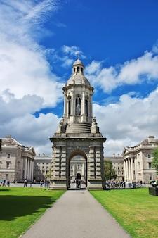 Trinity college in dublin, ierland