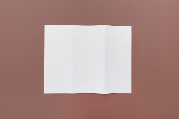 Tripfolded concept voor brochure