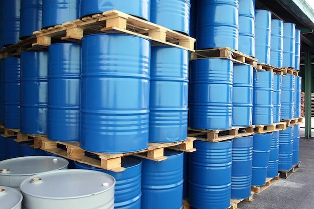 Trommels voor chemische vloeistoffen