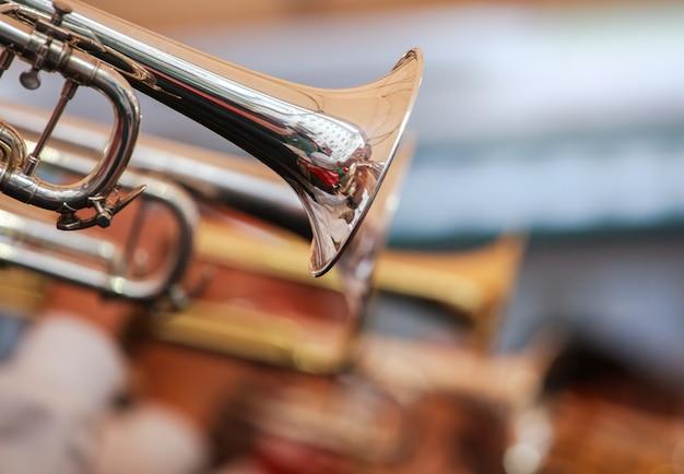 Trompetten op straat