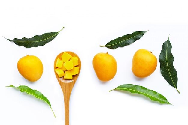 Tropisch fruit, mango.