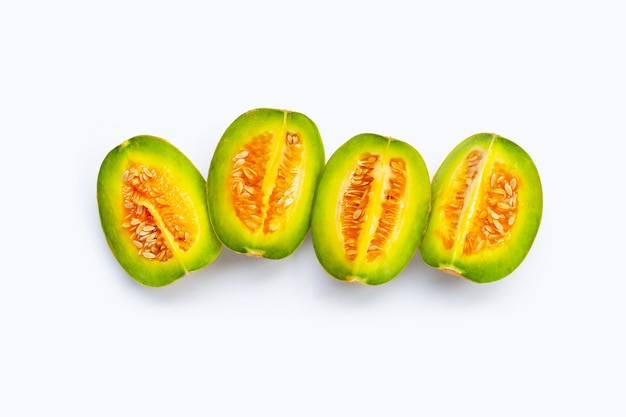 Tropisch fruit, thaise meloen of meloen