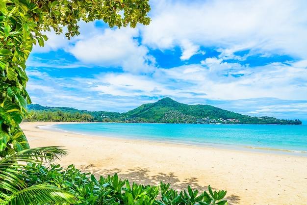 Tropisch strand en zee