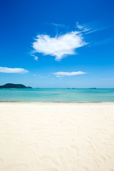 Tropisch strand in sri lanka