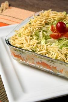 Tropische salade.