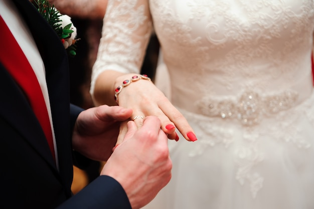 Trouwdetails - trouwringen als symbool van een gelukkig leven