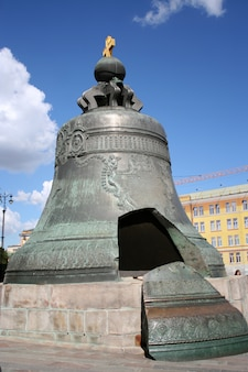 Tsaar (koning) bellin moskou kremlin