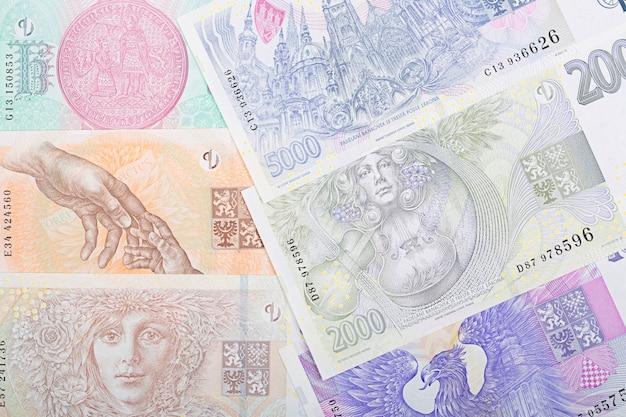 Tsjechisch geld - koruna een bedrijf