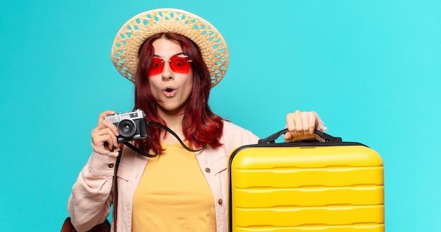 Tty reiziger vrouw