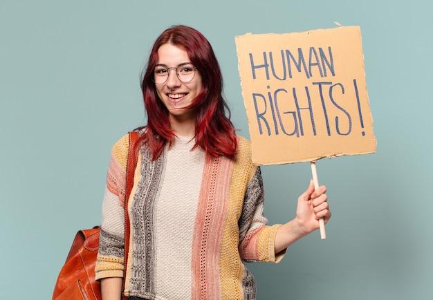 Tty student activist vrouw