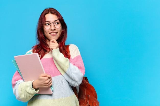 Tty studente vrouw