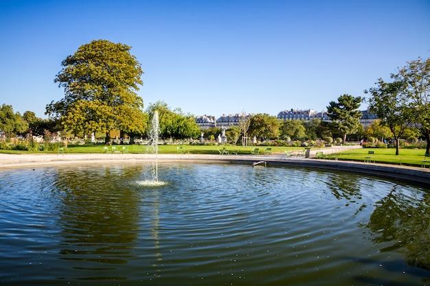 Tuileries garden, parijs, frankrijk