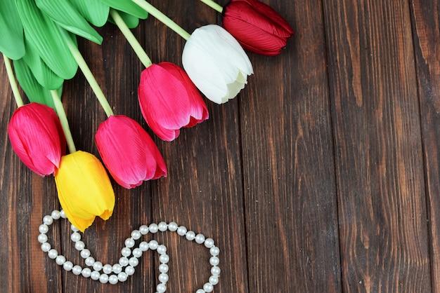 Tulpen bloemen voor valentijnsdag vakantie 8 maart moederdag