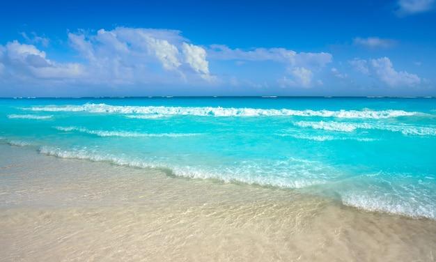 Tulum caribisch strand in riviera maya