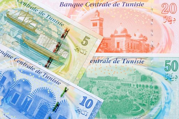 Tunesisch geld - dinar een bedrijf