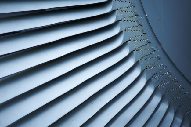 Turbine bladen straalmotor vliegtuigen