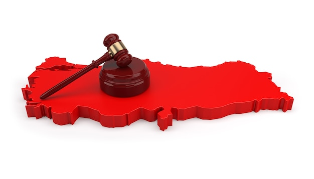 Turkije justitie concept