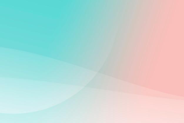 Turkoois en oranje abstracte patroon achtergrond