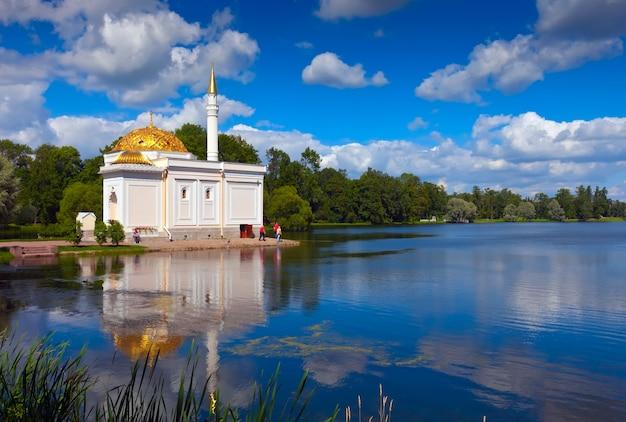 Turks bad in het catherine park in tsarskoye selo