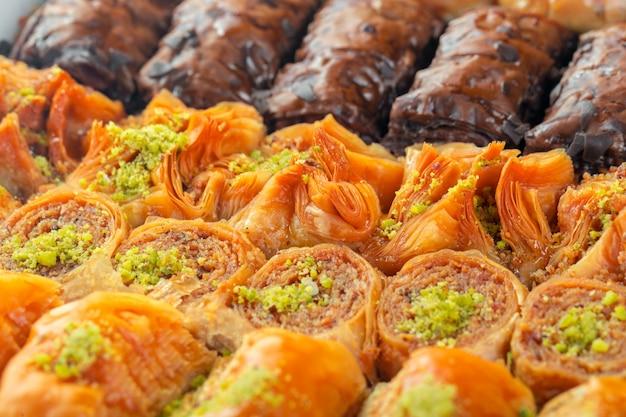 Turks baklava-dessert