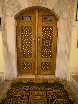 Turks patroon op deur