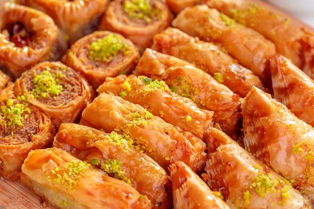 Turkse dessert baklava