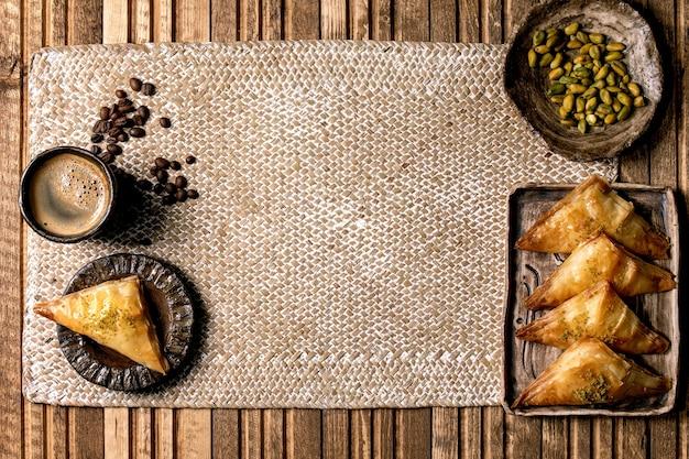 Turkse dessertbaklava