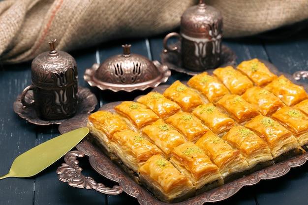 Turkse ramadan dessert baklava