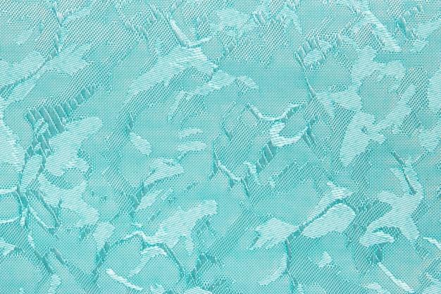 Turquoise stof blind gordijn textuur achtergrond kan gebruiken voor achtergrond of dekking