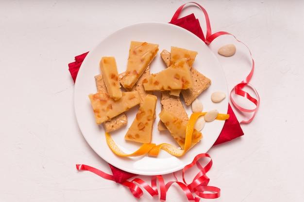 Turron is een typisch kerstgerecht in spanje