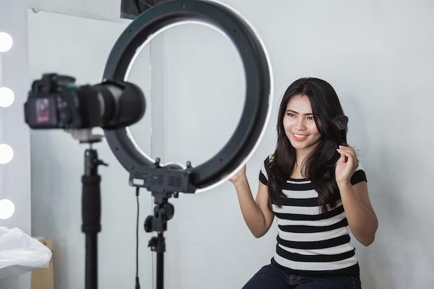 Tutorial voor het opnemen van beautyblogger