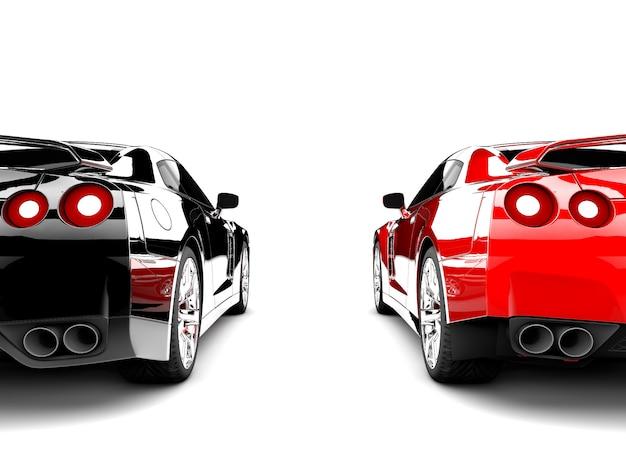 Twee auto's
