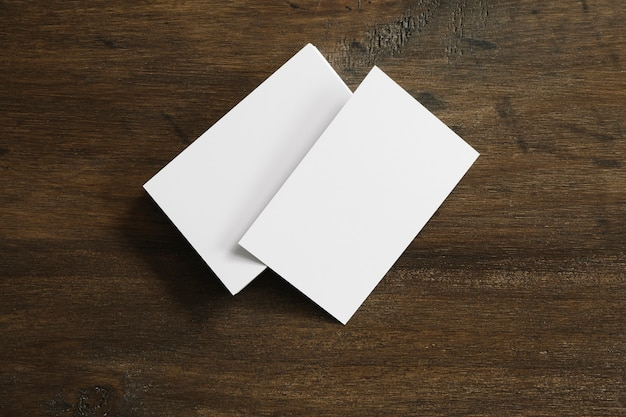 Twee blanco boekjes