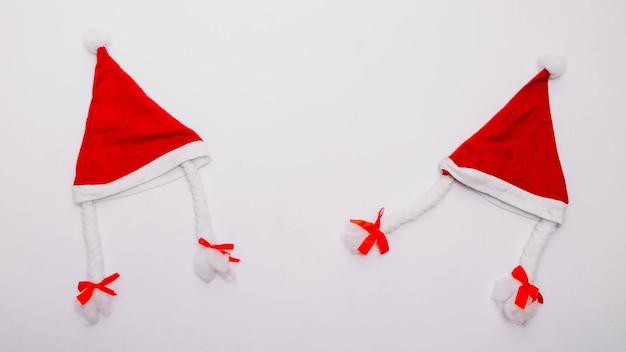 Twee kerstmutsen