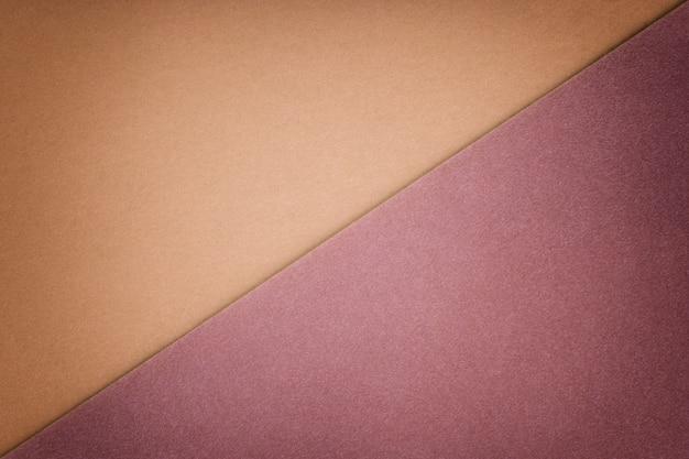 Twee kleuren beige en bruine schaduw als achtergrond