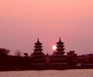 Twee pagodes